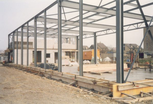 Rohbau Firmengebäude