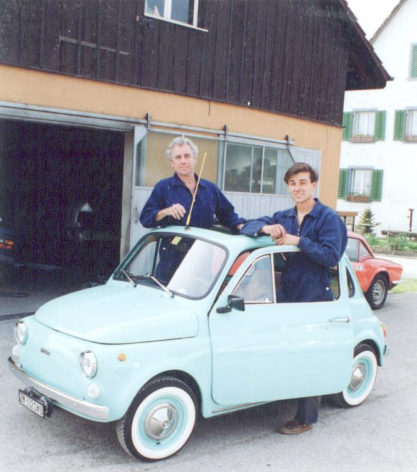 Adi und Ralf Vonbun